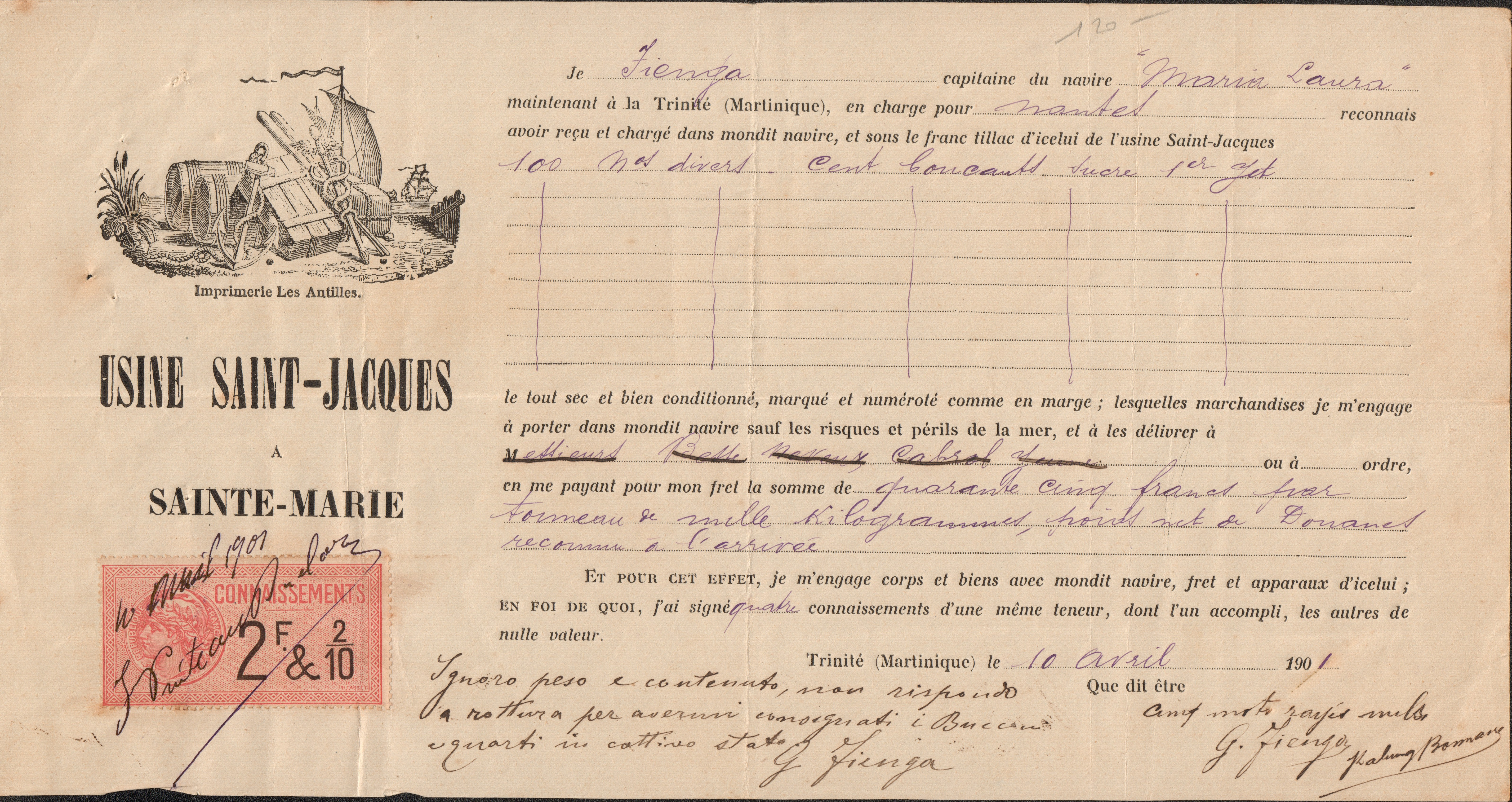 martinica nante 1901 10 04