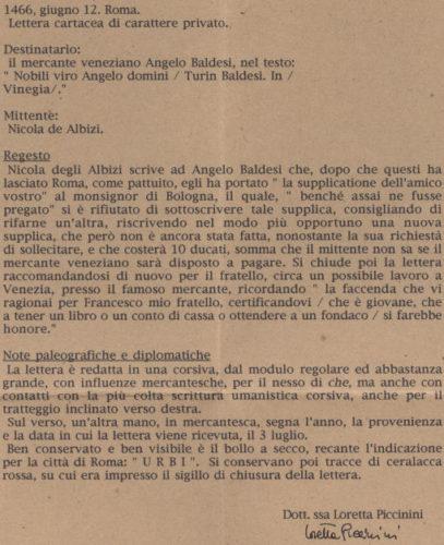 12061466-roma-venezia-regesto