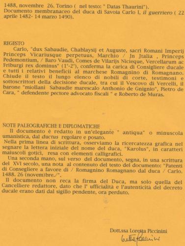 duca-di-savoia-i-14881126-regesto